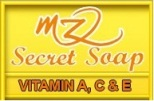 logo mz secret soap