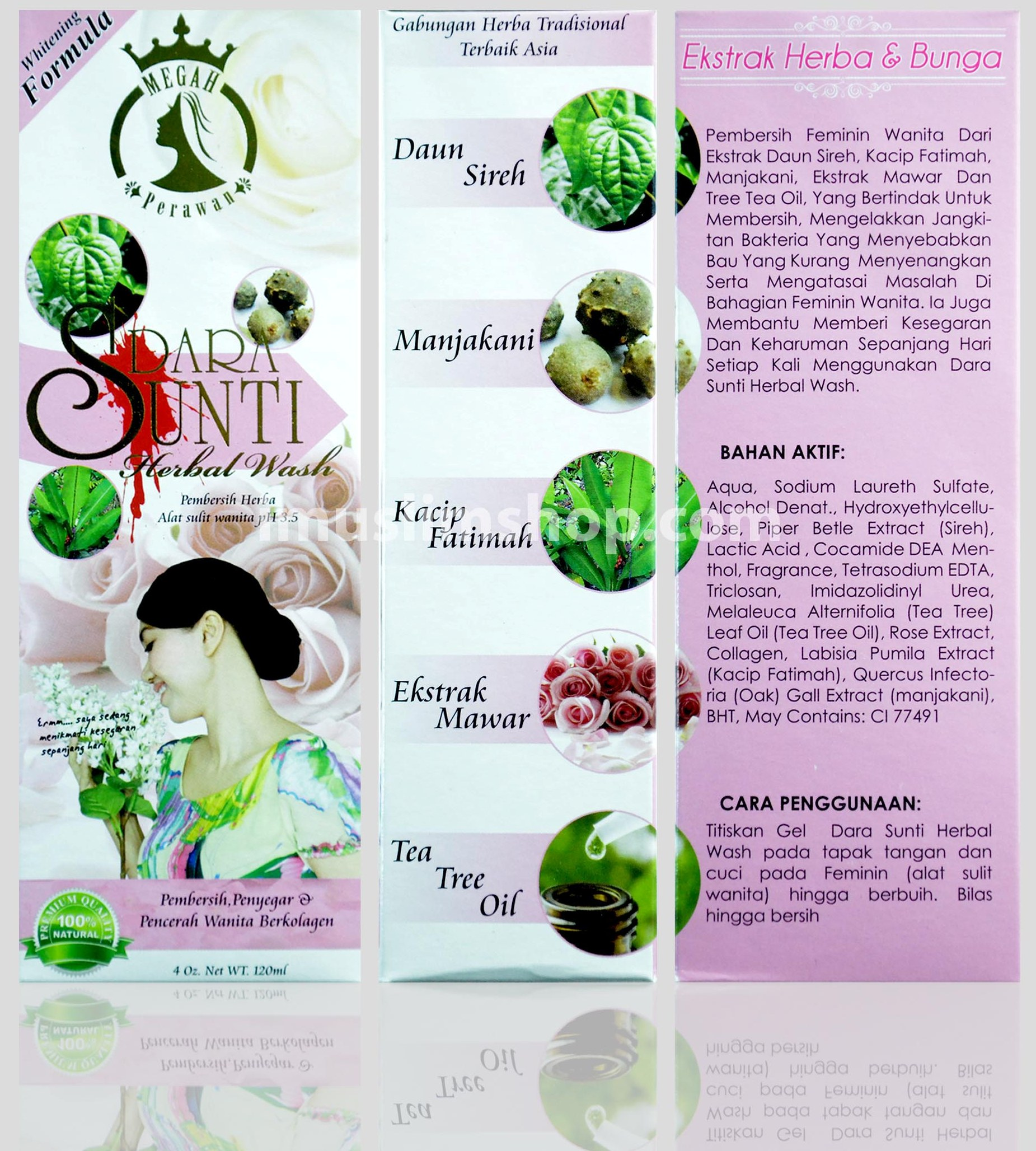 Testimoni Dara Sunti Herbal Wash Dara Sunti Hebal Wash