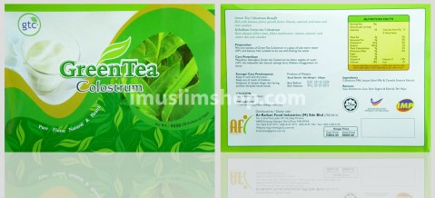 green tea colustrum