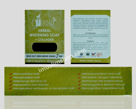 herbal whitening soap
