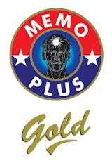 logo memo plus gold