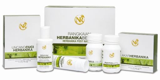 rangkaian herbanika bersalin