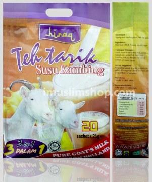 teh tarik susu kambing