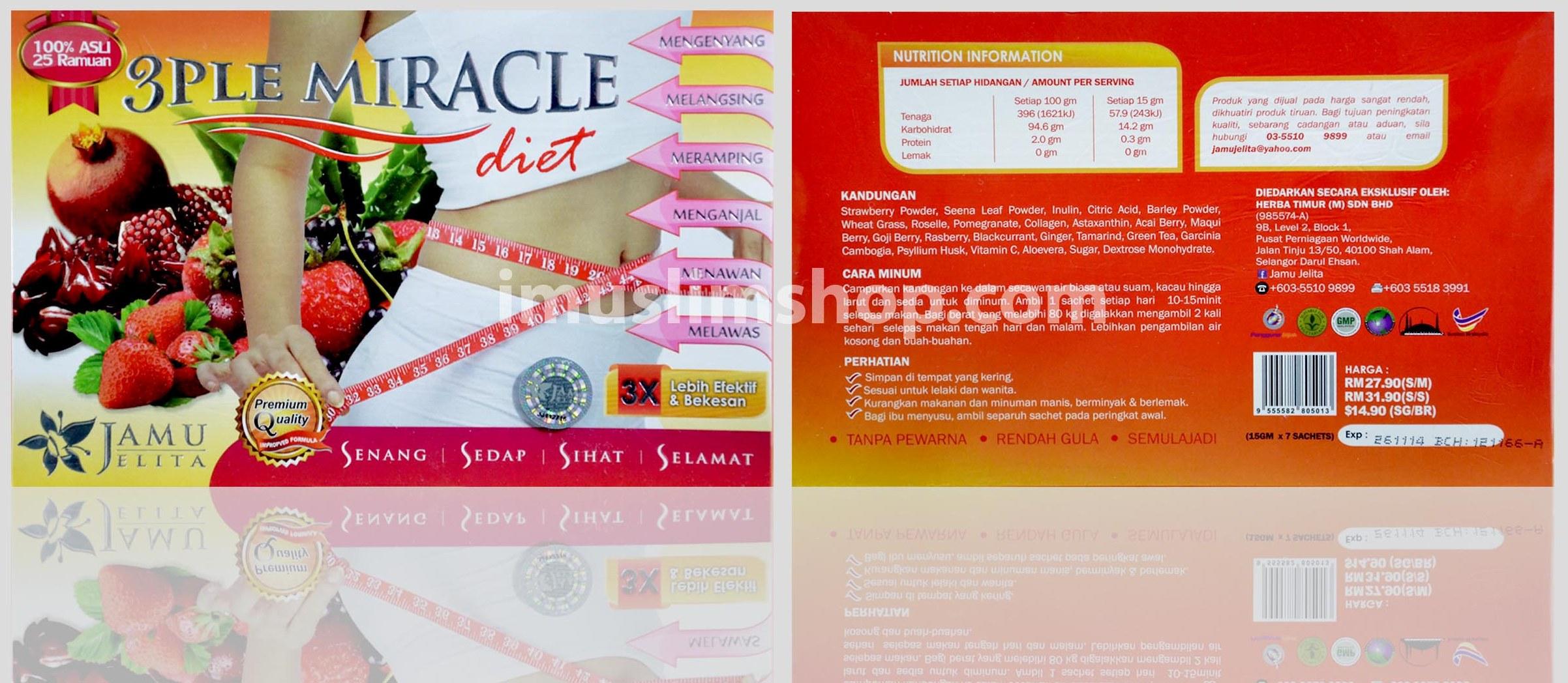 3 PLE Miracle Diet