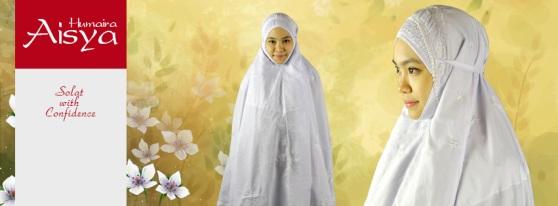 Telekung Cotton Online Aisya Humaira